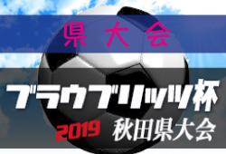 組合せ掲載 ブラウブリッツ杯県大会U12 | 2019年度 第9回ブラウブリッツ杯秋田県大会 6/8開催