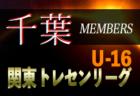 メンバー変更あり【U-15日本代表候補】参加メンバー・スケジュール発表!トレーニングキャンプ 5/26-29@東京/千葉
