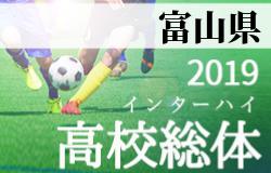 速報 インハイ予選富山 富山第一が優勝 | 2019年度 富山県高校総体 サッカー競技 インターハイ