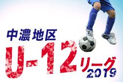 全日本中濃予選 U-12リーグ 次節5/12  | 2019年度  全日本中濃予選 兼 中濃地区U-12リーグ 岐阜
