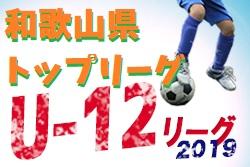 4/21全結果更新 和歌山U-12トップリーグ | 2019年度 和歌山県U-12トップリーグ