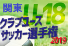 5/18結果募集 クラ選関東大会U-18 決勝トーナメント  | 2019年度 第43回 日本クラブユースサッカー選手権(U-18) 関東大会
