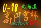 7/20,21結果更新! 高円宮杯JFA U-18サッカーリーグ2019北海道 ブロックリーグ道北 7/27,28