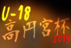 2019年度 第43回木下杯少年サッカー大会【滋賀県】(U-11) 甲賀ブロック予選 県大会出場5チーム決定!