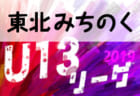 5/18,19結果掲載 みちのくリーグU-13 | 2019年度 東北みちのくリーグU-13 次回5/26