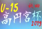 2019年度10月、11月の大会・カップ戦まとめ 優勝・上位チーム紹介(奈良県)【更新随時】