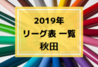 2019年度 青森県リーグ表一覧