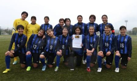 活水女子大優勝 なでしこ長崎 U18 | 第31回九州なでしこサッカー大会長崎県大会