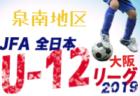 U-13サッカーリーグ 2019 京都 育成リーグ 組合せ掲載!10/19開幕!