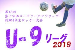 情報募集 富士宮西クラブカップ 前期3年大会 | 2019年度  第16回富士宮西ロータリークラブカップ  前期3年生サッカー大会 静岡