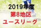 2019年度 第6地区ユースリーグ 東京都 8/2,3結果入力お待ちしています
