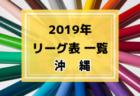 2019年度 長崎県リーグ表一覧