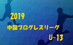 4/21結果速報 2019中国プログレスリーグU13 リーグAリーグ戦績表掲載 |  2019中国プログレスリーグU13