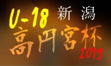結果速報5/18,19  高円宮杯U-18新潟 | 高円宮杯 JFA U-18サッカーリーグ2019新潟県