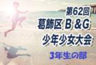 2019年度 第62回 葛飾区 B&G 少年少女大会 1年生の部 優勝は高砂SC!