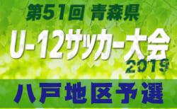 組合せ掲載 青森県U-12八戸地区 5/5開幕 | 2019年度 第51回 青森県U-12サッカー大会 八戸地区予選
