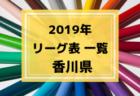 2019年度 島根県リーグ表一覧