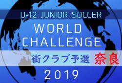 組合せ掲載 U-12ワーチャレ 街クラブ予選 奈良 6/1.2開催 | U-12ジュニアサッカーワールドチャレンジ2019 街クラブ予選 奈良会場予選