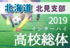 2019年度 パロマカップ2019 日本クラブユースサッカー選手権(U-15)三重県大会 優勝はH&A FC