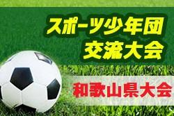 2019年度 第50回和歌山県スポーツ少年団サッカー交流大会 優勝は海南FCJr!