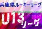 2019年度 兵庫県ルーキーリーグ(U-13サッカーリーグ)12/7,8結果速報