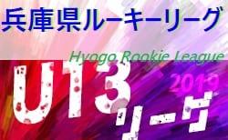 2019年度 兵庫県ルーキーリーグ(U-13サッカーリーグ)12/14,15結果速報