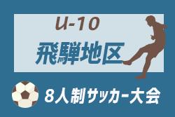情報募集 U-10飛騨地区大会 | 2019年度 8人制岐阜U-10 飛騨地区大会