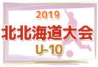 7/13~15結果速報!2019第16回全道少年U-10サッカー北北海道大会