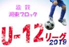 第2節結果掲載 U12リーグ湖東前期 | 2019年度 JFA U12サッカーリーグ2019in滋賀 湖東ブロック前期