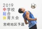 2019年度 福岡県U-15前期トレーニングセンター 追加選考選手発表のお知らせ