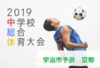 2019年度 乙訓地方中学校サッカー大会 立命館中・大山崎中が代表に決定!