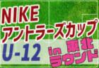 【組合せ掲載!8/8開催】2019年度 NIKEアントラーズCUP U-12 in 東北ラウンド
