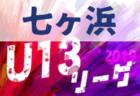 7/20結果速報 2019年度 第3回七ヶ浜U-13リーグ 宮城