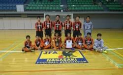 優勝は長崎レインボー 第25回長崎県ジュニアユースフットサル大会