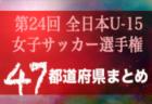【2019年度 全日本U-15女子サッカー選手権大会 】各県代表続々決定 U-15女子チームの頂点へ【47都道府県まとめ】