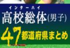 【2019年度 男子インターハイ(インハイ・高校総体)】残るは東京・埼玉・神奈川!全国制覇にむけた戦いが始まっています!【47都道府県まとめ】