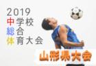 優勝は白鷹中!2019年度 第59回山形県中学校総合体育大会  男子