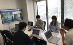 福岡大学サッカー部とWEB会議をしました