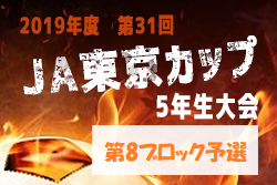 組合せ掲載 6/30~開催 JAカップ8ブロック | 2019年度 第31回JA東京カップ 5年生大会 第8ブロック予選