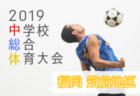 2019年度 第33回奈良市少年サッカーフェステイバル 優勝はディアブロッサ大阪!