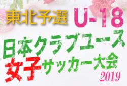 全国大会出場はベガルタLユース クラブユース女子東北大会  | XF CUP 2019 第1回 日本クラブユース女子サッカー大会(U-18)東北地域大会