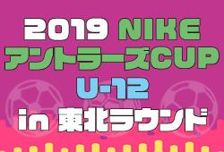 大会情報募集 NIKEアントラーズ東北大会 8/8開催 | 2019年度 NIKEアントラーズCUP U-12 in 東北ラウンド