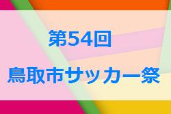結果掲載 鳥取市サッカー祭|2019年度第54回鳥取市サッカー祭 次回5/26