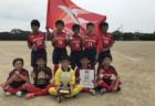 2019年度 NIKEアントラーズCUP U-12予選ラウンド 神奈川ラウンド リフレSC(栃木県)が優勝&決勝大会へ