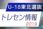 2019 国際親善試合 JapaFunCup 【U-18東北選抜】メンバー決定!
