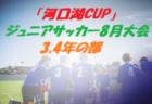 優勝はMIRUMAE FC セーラーカップ | 2019年度 第46回岩手県サッカースポーツ少年団大会(かもめの玉子セーラーカップ)