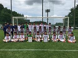2019年度 第34回 日本クラブユースU-15選手権 第25回 新潟県予選大会 優勝は長岡JYFC