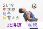 2019札幌市中学校体育連盟サッカー競技 ブロック予選 全市大会出場チーム決定!