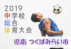 【エリートプログラム U-14】トレーニングキャンプ メンバー・スケジュール(6/19~23@Jヴィレッジ)