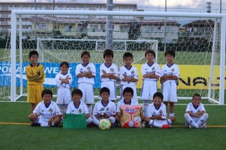 第1回 U-10ヴェルフェカップ 栃木 優勝はともぞうSC